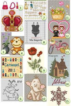 Free cross-stitch charts · Needlework News | CraftGossip.com