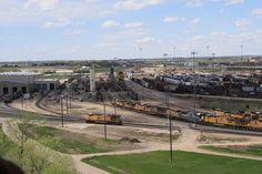 This is Bailey Yard, the largest train yard in the world.