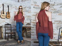 Deja tus hombros al aire y consigue el estilo bohemio de nuestra nueva colección. #Ecléctica #AnaPerez