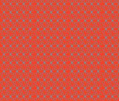 red starry eyed by crycepaul on Spoonflower - custom designed fabric, wallpaper and decals  Visit my shop on www.Spoonflower.com