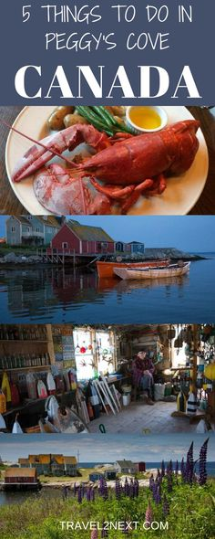 5 things to do in Peggys Cove - Nova Scotia. Peggy's Cove is one of the most photographed places in Canada.