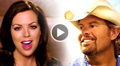 This beautiful song was penned by Toby Keith's daughter, Krystal, who is also a country music singer. The song was played at her wedding....