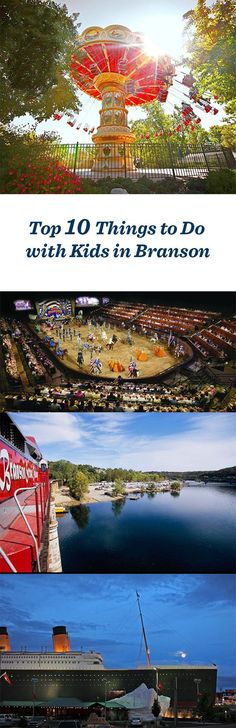 Family getaway! Top 10 things to do with kids in Branson, Missouri: http://www.midwestliving.com/blog/travel/top-10-things-to-do-with-kids-branson/