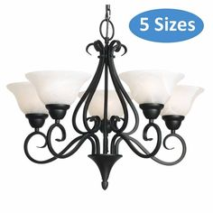 Liteworks Sheffield 5 Globe Pendant Black - Masters Home Improvement Office Lighting, Lighting Store, Ceiling Fan, Ceiling Lights, Light Emitting Diode, Black Chandelier, Types Of Lighting, Globe Pendant, Pendant Lighting