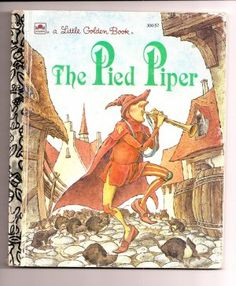1991 The Pied Piper Golden Book @ Vintage Touch $3.50