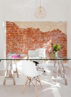Unas oficinas llenas de luz y encanto (y 12 ideas para copiar el look) · A beautiful office space