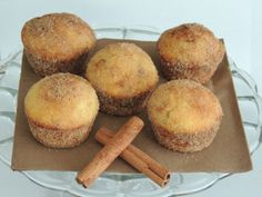 Škoricové muffiny plnené Nutellou Pastry Recipes, Cake Recipes, Dessert Recipes, Cooking Recipes, Sweet Desserts, Sweet Recipes, Biscuit Cookies, Russian Recipes, Nutella