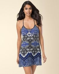 In Bloom by Jonquil Noura Tapestry Sleep Chemise Sapphire