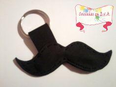 porta chaves mustache