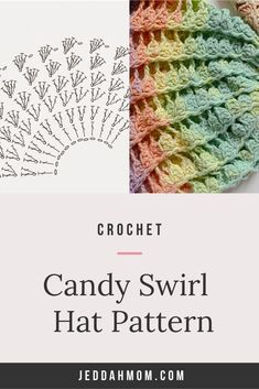 Love this sweet swirl crochet hat pattern for baby boy or baby girl. It is a beginner friendly pattern that has a brim and perfect as a gift for Summer or Spring Hat. I saw a beanie pattern of this hat. Gotta try this with a  wider brim! #crochethat #crochetpattern #beanie Chores For Kids, Activities For Kids, Sewing Patterns, Crochet Patterns, Spring Hats, Newborn Crochet, Beanie Pattern, Simple Gifts, Kid Friendly Meals