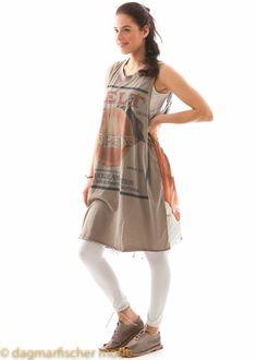 Onesie dress by RUNDHOLZ - dagmarfischermode.de      #dress #sleeveless #widercut #crewneck #cotton #rundholz #mainline #designer #german #fashion #germandesigner #style #stylish #styles #outfit #shopping #dagmarfischermode #shop #outfit #cool #lagenlook #oversize #mode #extravagant #germandesigner #spring #summer #hotsummer #springtime