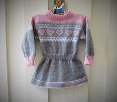 Tunika i str.3år Panda, Arms, Sweaters, Baby, Dresses, Fashion, Tricot, Tunic, Vestidos