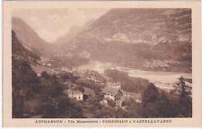 LONGARONE - BELLUNO - VIA MEZZATERRA - CODISSAGO E CASTELLAVAZZO -65997-