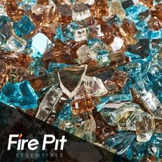 Use 100 heat-proof fire glass stones to transform your fire pit into a modern look, increasing both efficiency and ambiance. Fire glass creates a clean-burning fire that does not produce smoke, soot or Fire Pit Glass Rocks, Fire Glass, Fire Pit Accessories, Fireplace Accessories, Fire Pit Fuel, Fire Pits, Fire Pit Essentials, Colors Of Fire, Outdoor Fire