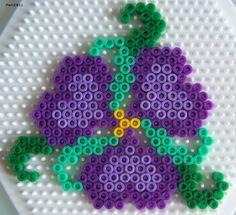 Perles Hama : fleurs