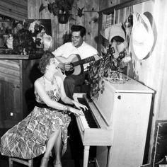 Lucille Ball & Desi Arnaz's home in the 1950s. #vintage #ilovelucy