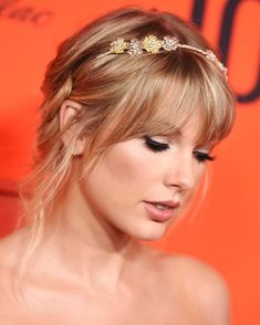 Taylor Swift at Time 100 Gala Long Live Taylor Swift, Taylor Swift Web, Taylor Swift Pictures, Taylor Alison Swift, Red Taylor, Taylor Swift Bangs, Taylor Swift Makeup, Taylor Swift Hairstyles, Taylor Swift Fashion
