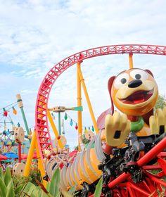 Slinky Dog in Hollywood Studios is such a blast! Walt Disney World / Disney Pictures / Beautiful Disney / Pictures of Disney Disney World Guide, Disney World Vacation, Disney Vacations, Walt Disney World, Disney Travel, Cute Disney, Disney Art, Disney Movies, Disney Parque