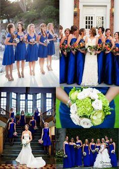 29 meilleures images du tableau mariage bleu roi