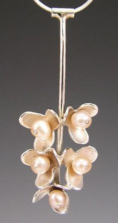 Pearl necklace by S.D. Cooper | Raiford Gallery #pearls