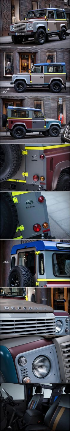 Special Edition Land Rover Defender by Paul Smith.