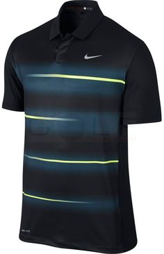 Nike TW Vapor Trail Polo 639821 Tiger Woods Collection, Dri-Fit Technology, Stretch Polos Shirts Mens Golf Apparel - $49