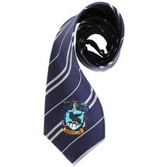 elope Harry Potter Ravenclaw House Neck Tie ($25) ❤ liked on Polyvore featuring harry potter