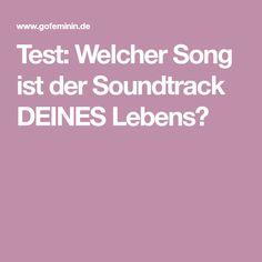 Test: Welcher Song ist der Soundtrack DEINES Lebens? Soundtrack, Beauty, Lifehacks, Musik, Life, Nice Asses, Random Stuff, Life Cheats, Beauty Illustration