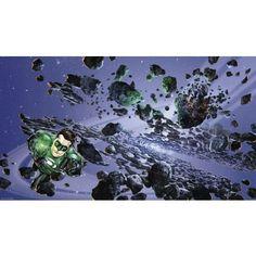 Green Lantern XL Wallpaper Mural 10.5' x 6'