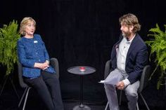 """WATCH: Hillary Clinton goes """"Between Two Ferns"""" with Zach Galifianakis…"""
