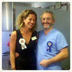 Algunos ya les conocéis bien: Ana Llorca, Responsable de Atención al Paciente y el Dr. Fraile, Director del Instituto Materno Infantil.