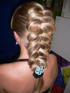 Fashion briad #hairstyle