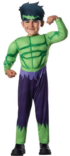 Kids Hulk Costume