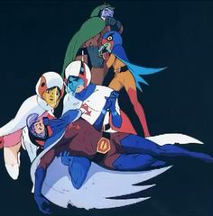 From promo artwork, Gatchaman first series