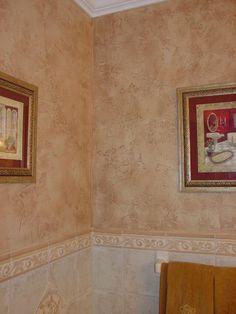 Old world plaster walls