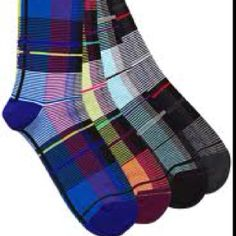 plaid socks...gimme some converse shoes to wear with these!