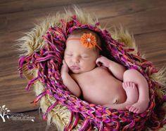 newborn baby photography prop-crocheted tan by PreciousLittleBaby