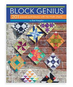 Look what I found on #zulily! Block Genius Paperback #zulilyfinds