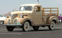 1941 Fargo 1/2-Ton Pickup Truck. These were a re badged Dodge truck.: