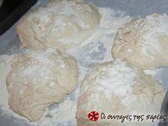 Σπιτικό ψωμί τσιαπάτα φωτογραφία βήματος 2