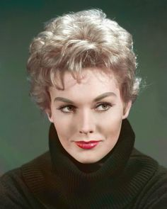 Marilyn Pauline Novak, professionally known as Kim Novak (b. 1933) retired American film and television actress.