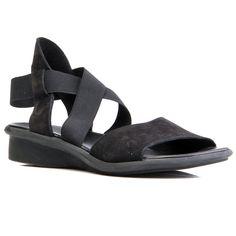 Arche Satia Sandal size 6 Fab Shoes, Black Sandals, Wedges, Fashion, Black Flat Sandals, Moda, Fashion Styles, Fashion Illustrations, Wedge