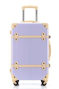 Amazon.com: Ambassador Luggage Antique Fashion Polycarbonate ...