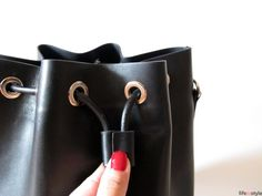 how to make a bucket bag!!!!