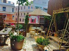 El Jardín Secreto de Salvador Bachiller, una de las terrazas más chic de Madrid