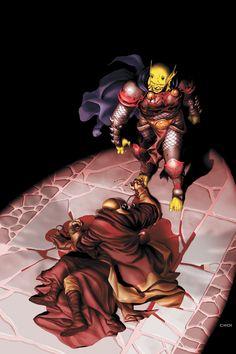 Demon Knights - The City Stilled by Death.