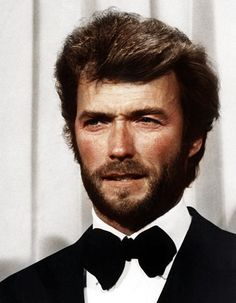 Clint Eastwood...does he and Hugh Jackman not look like they could be brothers?????