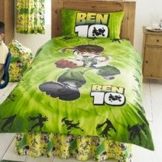 Are you looking for Ben 10 bedding to create a Ben 10 themed bedroom? If so you have come to the right place to find bedding and bedding decor...