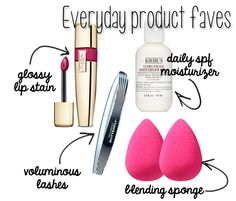 Favorite Everyday beauty products