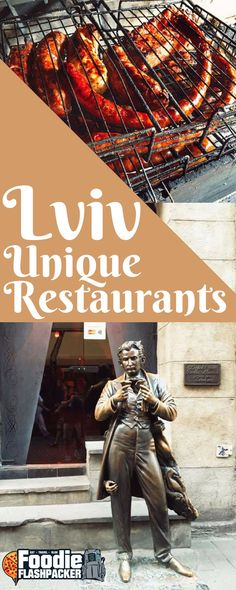 Lviv is one of my new favorite cities. One of the many things I love are all of the unique restaurants found throughout the city. From quirky to controversial, here are the top fivemost unique restaurants in Lviv: